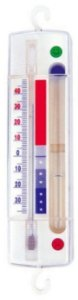Freezer thermometer with defrost alert from thermometers for Koch thermometer