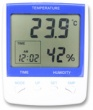 Digital Thermometer Hygrometer and Clock