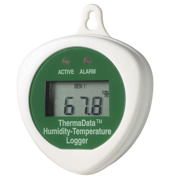 humidity temperature data logger thermadata htd - Temperature Data Logger