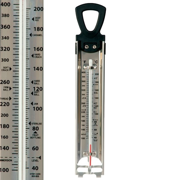 sugar thermometer and jam thermometer from thermometers direct