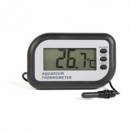 Aquarium fridge max min thermometer with a alarm eti 810 for Aquarium thermometer